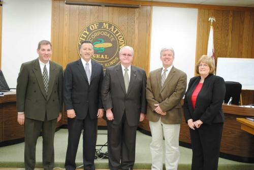 Mattoon IL City Council Members